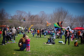 Chicago kite festival